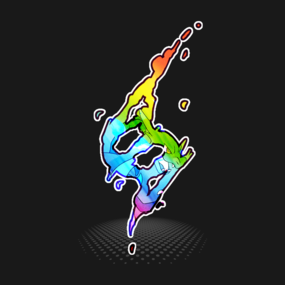 Pokemon - Mega evolution symbol - Charizard X