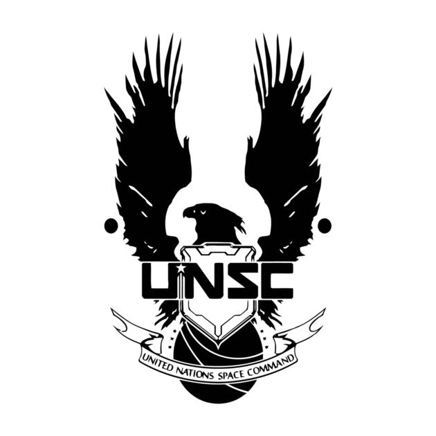 tshirts unsc logo halo 4 clean lo teepublic