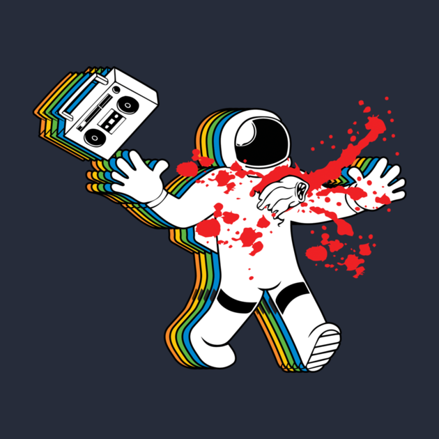 Astronaut with Boombox GTA Emblem - Pics about space