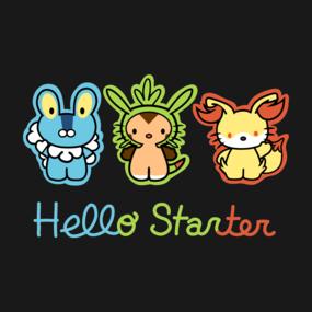 Hello Starter Pokemon