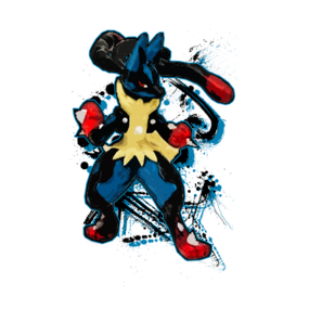 Pokemon - Mega Lucario - Fighter