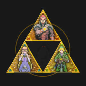 Triforce and a little Darkness