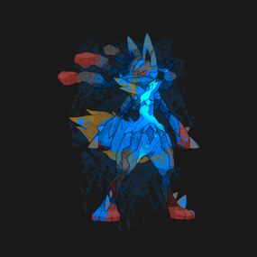 Pokemon - Mega evolution , Lucario !