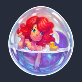 Mermaid in an Egg