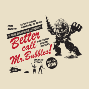 Better call Mr. Bubbles