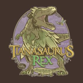 PREHISTORIC PRINCESS: Tianasaurus Rex