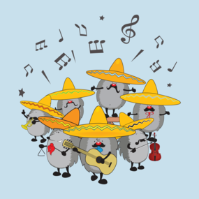 Mariachi hedgehogs