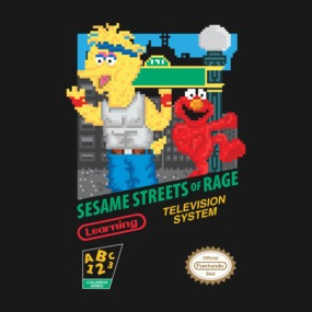 Sesame Streets of Rage
