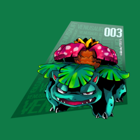 I choose you - Venusaur