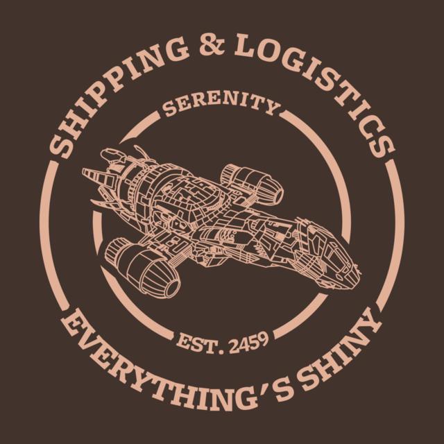Serenity shipping and logistics (light design)