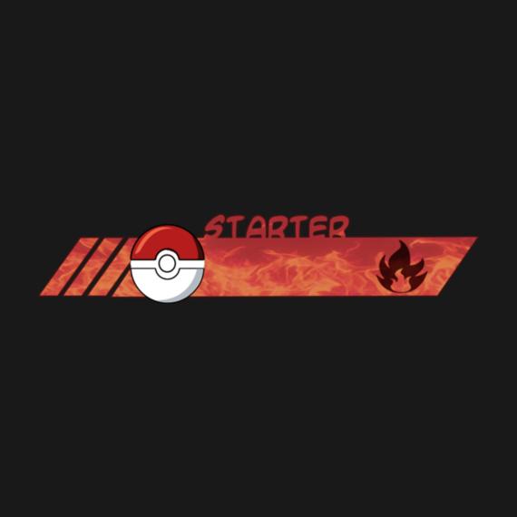 Poke style Starter pokemon fire