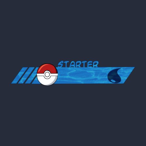 Poke style Starter pokemon water