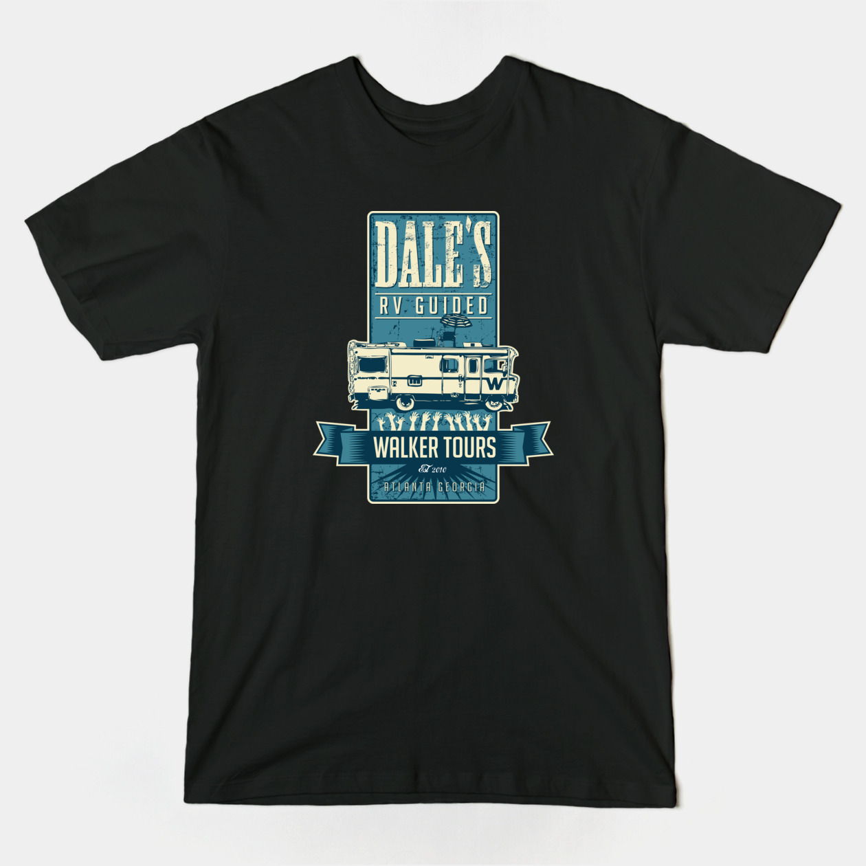 dales rv guided walker tours walking dead t-shirt