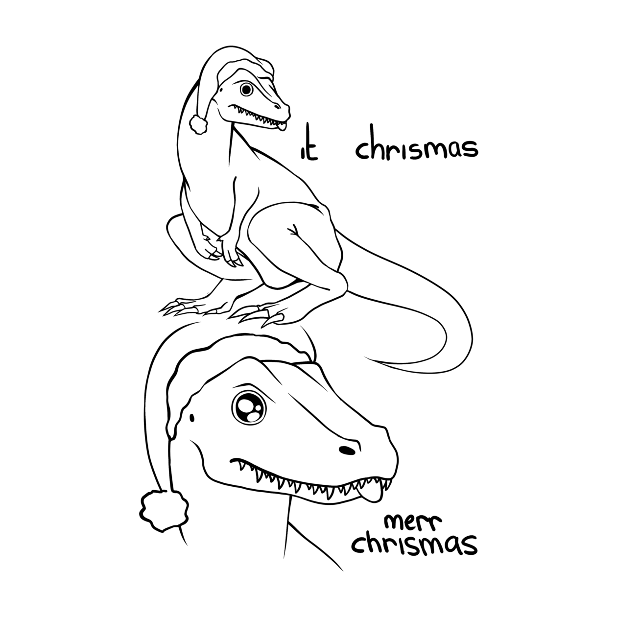 Merr Christmas, everyone! : Sneks