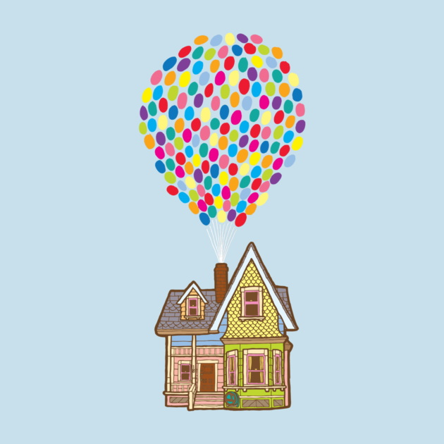 Up Movie Balloons Cake Ideas and Designs
