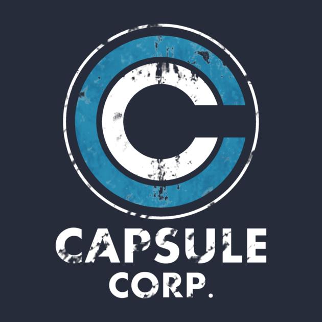 Capsule Corps Shirt Capsule Corp Logo