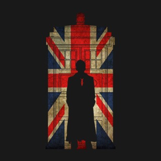 10th Doctor in Union jack