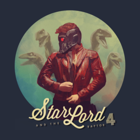 Star Lord & the Raptor 4