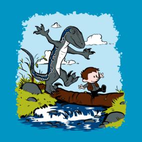 Jurassic World - Owen and Blue