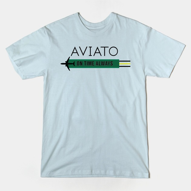 AVIATO - On Time Always Graphic T-shirt