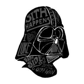 Darth Vader Lettering