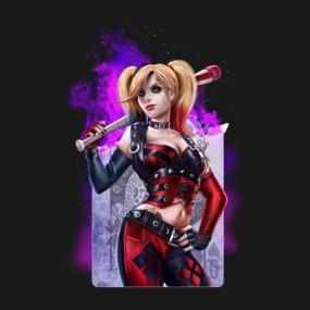 Harley Quinn Burning