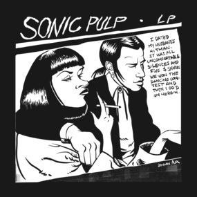 Sonic Pulp: Goo Fiction [Dark Tee]